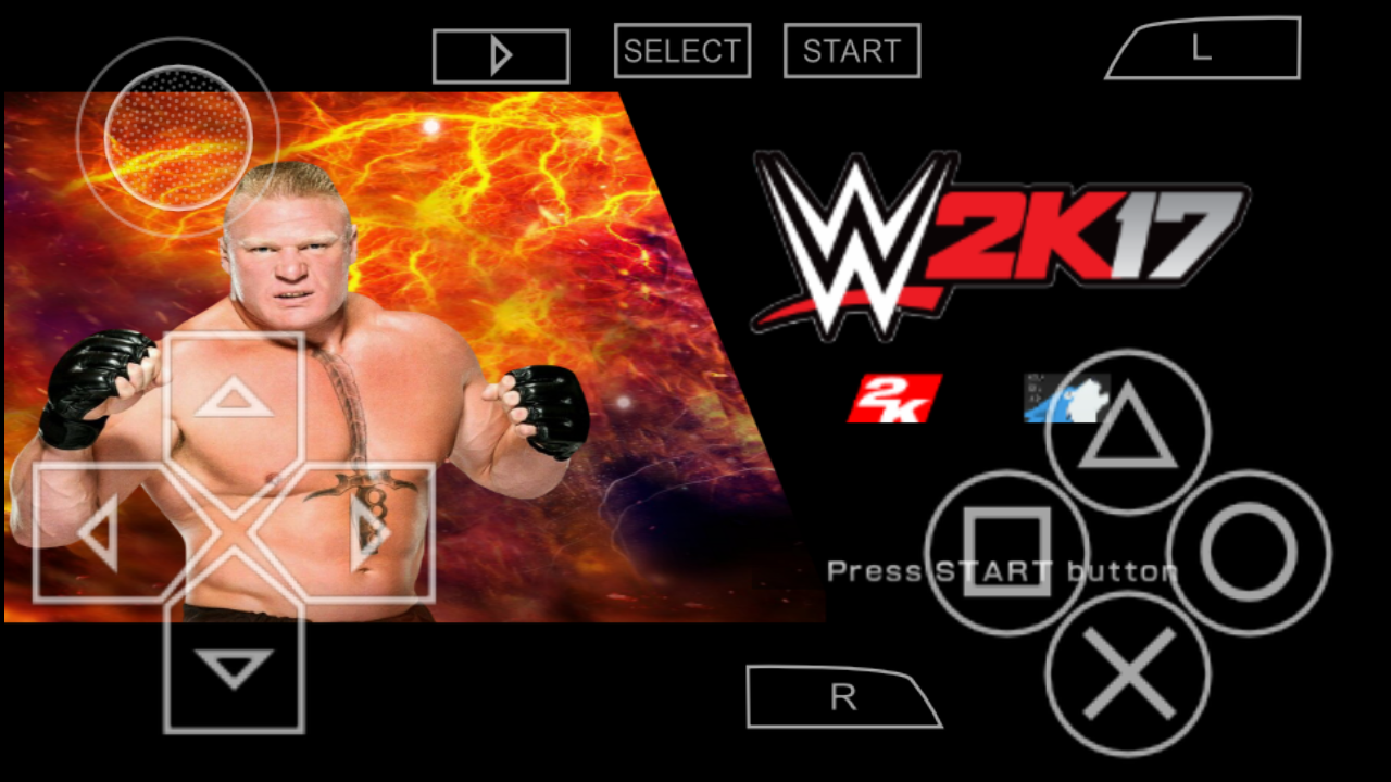 WWE 2K17 MOD In PPSSPP For Android - The LUCKY T V